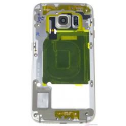 Samsung Galaxy S6 Edge G925F - Rám stredový zlatá - originál – vrátené do 14 dní