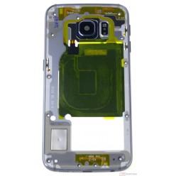 Samsung Galaxy S6 Edge G925F - Rám stredový čierna - originál – vrátené do 14 dní