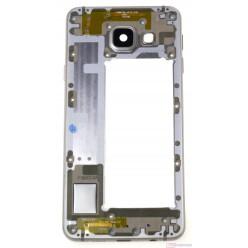 (Produkt vrátený do 14 dní) Samsung Galaxy A3 A310F (2016) rám stredový zlatá originál