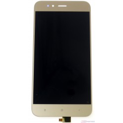 Xiaomi Mi A1 - LCD displej + dotyková plocha zlatá
