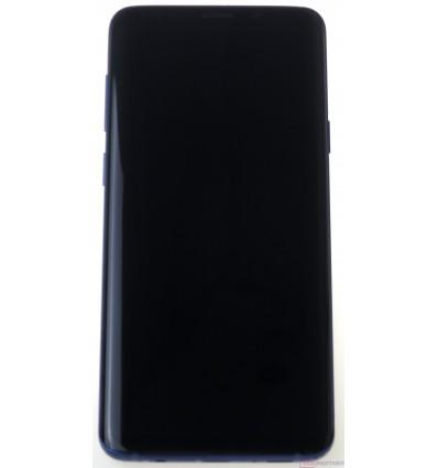 Samsung Galaxy S9 Plus G965F LCD displej + dotyková plocha + rám modrá - originál