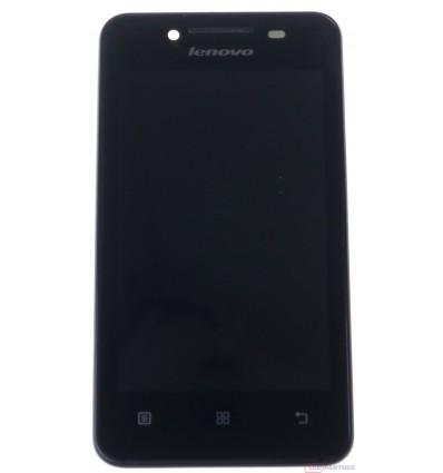 Lenovo A319 - LCD displej + dotyková plocha + rám čierna