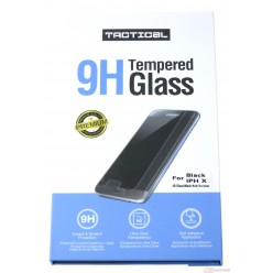 Tactical Apple iPhone X tempered glass black