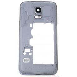 Samsung Galaxy S5 mini G800F - Rám stredový čierna