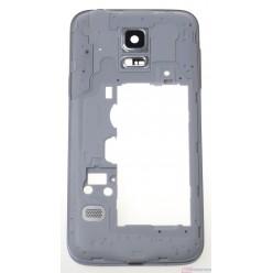 Samsung Galaxy S5 mini G800F - Rám stredový biela