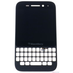 Blackberry Q5 LCD + touch screen + front panel black