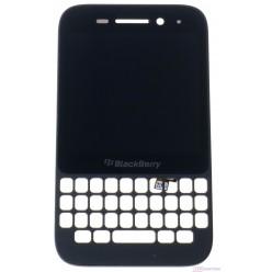 Blackberry Q5 - LCD displej + dotyková plocha + rám černá