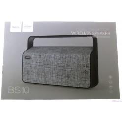 hoco. BS10 bezdrôtový reproduktor šedá
