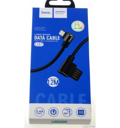 hoco. U37 charging cable type-c black