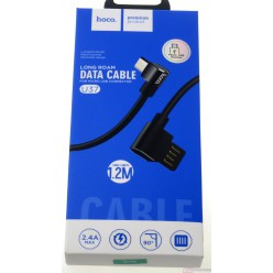 hoco. U37 charging cable microUSB black