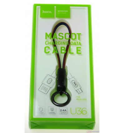 hoco. U36 charging cable microUSB red