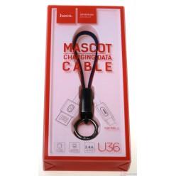 hoco. U36 nabíjací kábel typ-c červená
