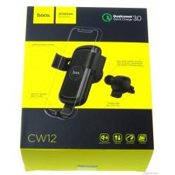 hoco. CW12 držiak mobilných zariadení do ventilace auta čierna