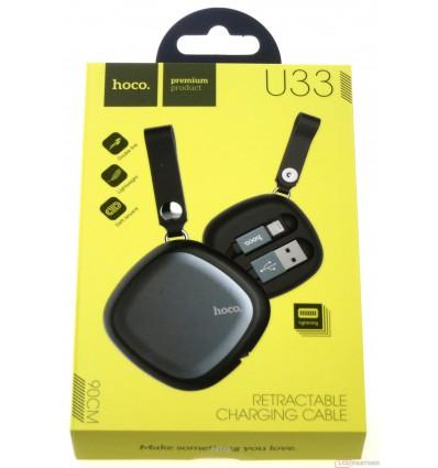 hoco. U33 charging cable lightning black