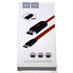 hoco. U29 charging cable type-c red