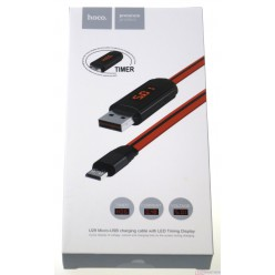 hoco. U29 charging cable microUSB red