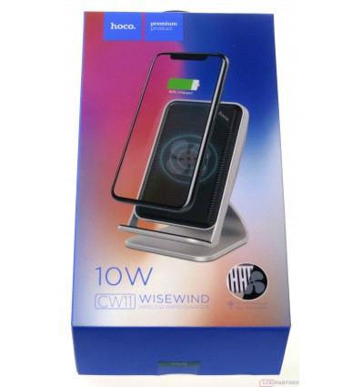 hoco. CW11 wireless rapid charger silver