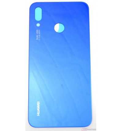 the best attitude fe174 385a8 Huawei P20 Lite - Battery cover blue