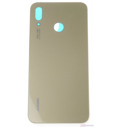sports shoes d7bb5 12a6d Huawei P20 Lite - Battery cover gold
