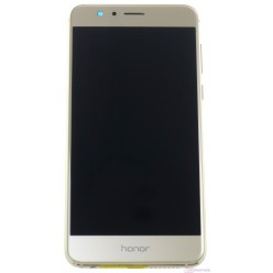 Huawei Honor 8 Dual Sim (FRD-L19) - LCD + touch screen + frame + small parts gold - original