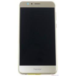 Huawei Honor 8 Dual Sim (FRD-L19) - LCD displej + dotyková plocha + rám + malé díly zlatá - originál