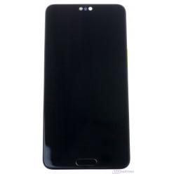 Huawei P20 - LCD displej + dotyková plocha + rám + malé díly černá - originál