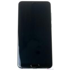 Huawei P20 Pro - LCD displej + dotyková plocha + rám + malé díly modrá - originál