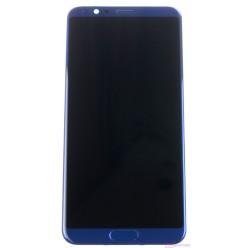 Huawei Honor View 10 LCD displej + dotyková plocha + rám + malé diely modrá originál