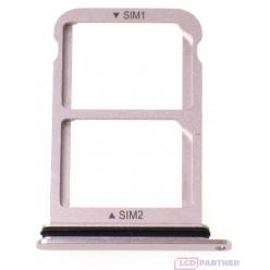 Huawei P20 - SIM and microSD holder pink - original