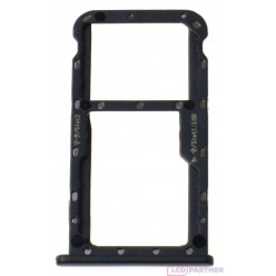 Huawei Mate 10 Lite - Držiak sim a microSD čierna - originál