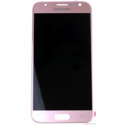 Samsung Galaxy J3 J330 (2017) - LCD displej + dotyková plocha růžová - originál