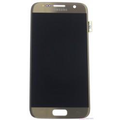 Samsung Galaxy S7 G930F LCD displej + dotyková plocha zlatá originál