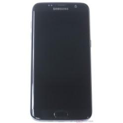 Samsung Galaxy S7 Edge G935F - LCD displej + dotyková plocha + rám čierna - originál – vrátené do 14 dní