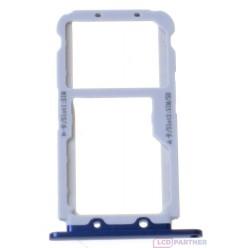 Huawei Honor View 10 - SIM and microSD holder blue - original