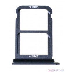 Huawei P20 - SIM and microSD holder black - original