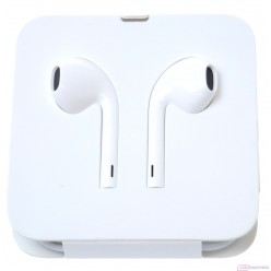 Apple slúchadlá + adaptér lightning to headphone jack biela originál