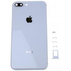 Apple iPhone 8 Plus kryt zadný + rám stredový biela OEM