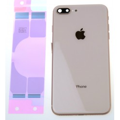 Apple iPhone 8 Plus battery cover + small parts gold OEM