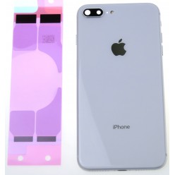 Apple iPhone 8 Plus battery cover + small parts white OEM