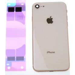 Apple iPhone 8 kryt zadný + malé diely zlatá OEM