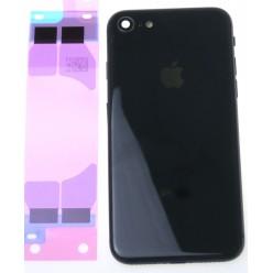 Apple iPhone 8 kryt zadný + malé diely čierna OEM