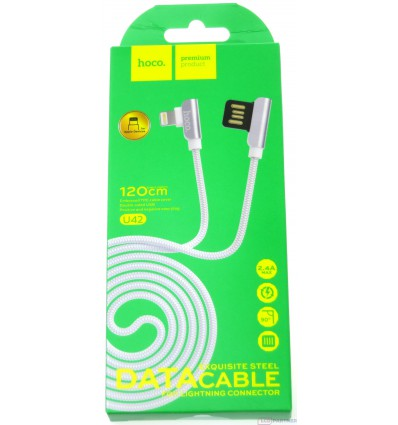 hoco. U42 lightning cable 120cm white