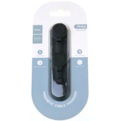 hoco. PH14 magnetický držák na kabely černá
