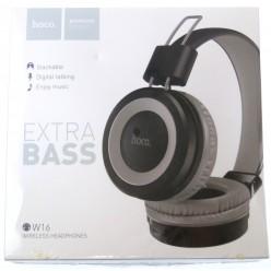 hoco. W16 bezdrátové sluchátka šedá
