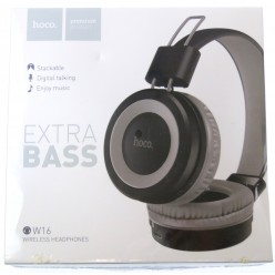 hoco. W16 wireless headphone gray