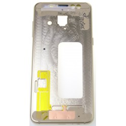 Samsung Galaxy A8 (2018) A530F - Rám stredový zlatá - originál