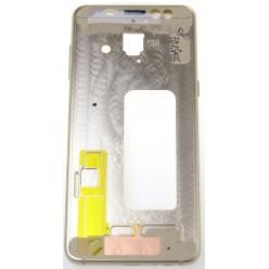 Samsung Galaxy A8 (2018) A530F Rám stredový zlatá - originál