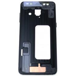 Samsung Galaxy A8 (2018) A530F Rám stredový čierna - originál