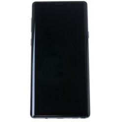 Samsung Galaxy Note 9 N960F - LCD displej + dotyková plocha + rám černá - originál