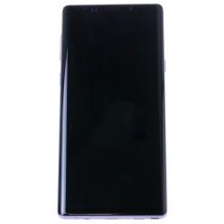 Samsung Galaxy Note 9 N960F - LCD displej + dotyková plocha + rám fialová - originál